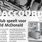 huis-aan-huisblad Muziekvereniging De Club